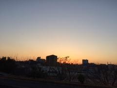 枚方の夕焼け